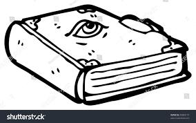 cartoon spell book
