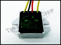 voltage regulator tympanium 4 wire for electric start ski doo amp brand new voltage regulator for many ski doo electric start models pictures alone should tell if this product fits your sled