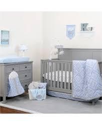 new nojo the dreamer 8 piece baby toddler crib nursery bedding set blue h4107