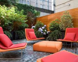 italian outdoor furniture brands. Example Of A Trendy Backyard Patio Design In New York Italian Outdoor Furniture Brands