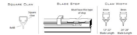 Wiper Blade Fit Chart Piaa Wiper Refills