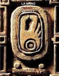 Resultado de imagen para c alendario maya - mano resonante azul