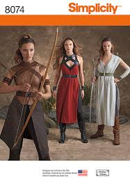 Simplicity Patterns Costumes Fascinating Star Wars Costume Patterns PatternVault