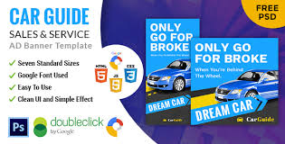 Carguide Car Sale Rent Html5 Google Banner Ad By Dzineffort