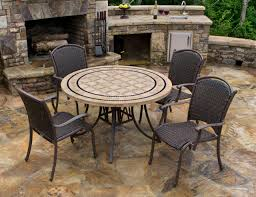 amusing stone top outdoor dining table 1 blue oak patio tables hsayt rt 64 1000