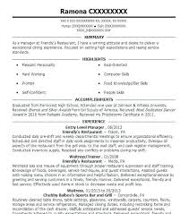 It Resume Magnificent Entry Level It Resume Newyorkprints