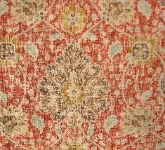 orange oriental rug vintage rug fabric orange blue chenille velvet upholstery sample cut orange persian carpet orange oriental rug