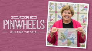 Make a Kindred Pinwheels Quilt with Jenny! - YouTube &  Adamdwight.com