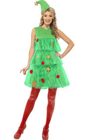 Christmas Tree Appliquéd Knit Dress Girls Christmas Tree Dress Girls Christmas Tree Dress