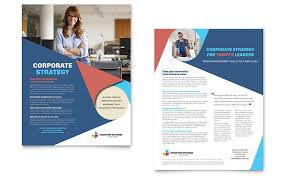 marketing slick template sales sheet templates indesign illustrator publisher word pages