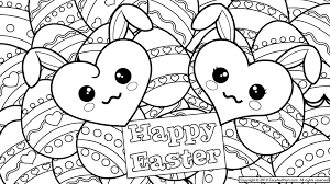 Free Easter Coloring Pages Pdf Basket For Preschoolers Printable
