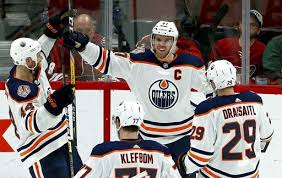 Edmonton oilers win game 5 vs san jose sharks in ot and then take the series in six. Mcdavid Scores In Ot To Lead Oilers Past Coyotes 3 2