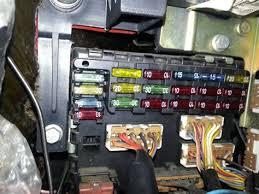 fiat punto mk1 fuse box diagram diagram Fiat Punto Fuse Box Schematic Automotive Fuse Box Wiring