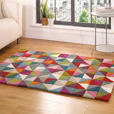 flair rugs illusion geometry 100 wool hand tufted