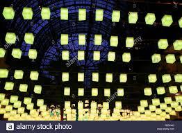 luminaries spectacular lighting display. Luminaries - A Spectacular Lighting Display At The Winter Garden, Brookfield Place, New York City,