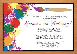 Invitation To Birthday Party Sample Under Fontanacountryinn Com