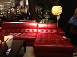 me decorate around red leather sectional