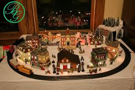 christmas decor great information on kinds of trains building mountains etc