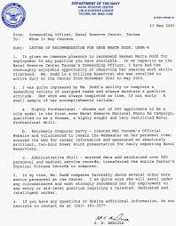 Army Officer Letter Of Recommendation Choice Image Letter Format