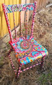 colorful painted furniture. Colorful Painted Furniture 25+ Unique Chairs Ideas On Pinterest | Hand Chairs,