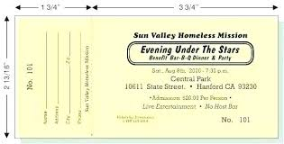 Benefit Ticket Template Banquet Ticket Template Dinner Ticket Template Banquet
