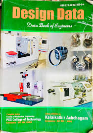 Buy Psg Design Data Book Rajeshwari Book Shop Namakkal Ho Book Dealers In Namakkal
