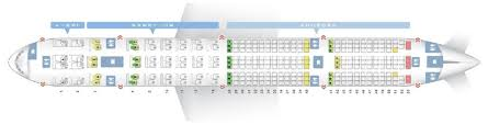 Aeroflot Boeing 777 300er Seating Chart Korean Air Fleet Boeing 777 300er Details And Pictures