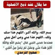 ما يقال عند ذبح الأضحية ساهم بنشرها... - Centre Ville Sfax