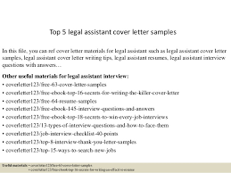 top 5 legal assistant cover letter samples in this file you can ref cover letter sample legal cover letters