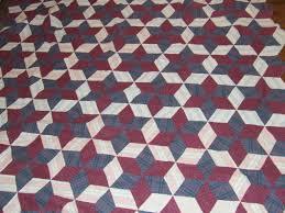 Hexagon Star/Tumbling Blocks Variation Pattern | Tim Latimer ... & The ... Adamdwight.com