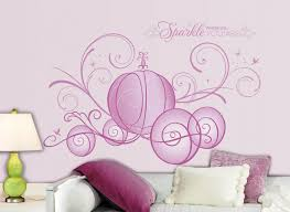 disney princess wall decals for girls