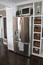 Over The Fridge Cabinet Best 20 Built In Refrigerator Ideas On Pinterest Cabinets To