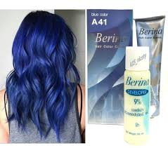 Berina A41 Bule Permanent Hair Dye