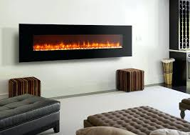 hanging electric fireplace wall mounted fireplaces tv over