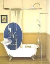 clawfoot tub shower enclosure freestanding shower enclosure clawfoot tub shower enclosure parts