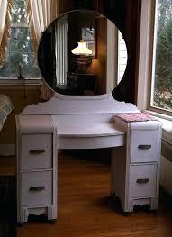 vanities art deco vanity mirror art vanity dressing table with round mirror shabby chic distressed
