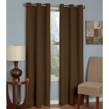 eclipse curtains microfiber grommet blackout curtain panel available in multiple colors and sizes com