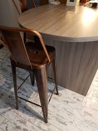 bronze copper bar stools in rutherglen glasgow gumtree glass coffee tables coffee table with storage