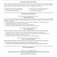 Resume Examples Basic Computer Skills New Resume Sample Example Best