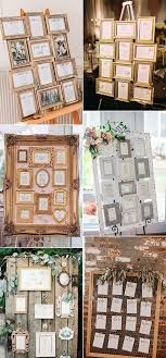 Wedding Seating Chart Frame Chic Vintage Photo Frame Wedding Seating Chart Ideas