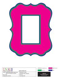 free printable frame templates 1362756