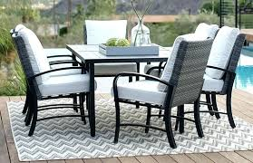 large outdoor rug patio outdoor rugs 6 person patio dining set on deck with outdoor rug