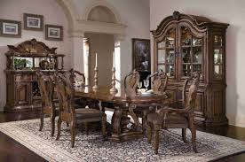 San Mateo Bedroom Furniture Pulaski Furniture San Mateo Double Pedestal Dining Table Set By