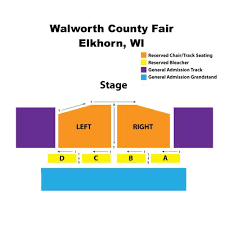 Walworth County Fair Concert Seating Chart Tickets Martina Mcbride At Walworth County Fair In Elkhorn