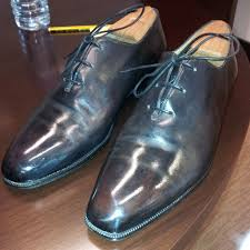 not as much creasing on this berluti whole cuts strange but just