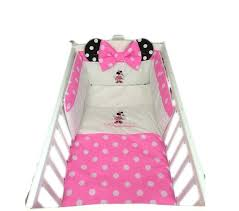 minnie mouse infant bedding set minnie mouse mini crib bedding set