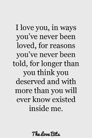 Why I Love You Quotes