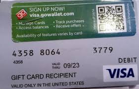 visa gift card scam