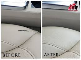 repair automotive upholstery leather and vinyl repair kit mends damaged car upholstery that has been cut torn or burned minor damage to leather and