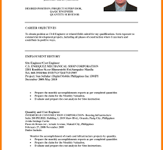 Resume Career Objective Samples Career Objective Resume Examples New Templates Samples For Sales